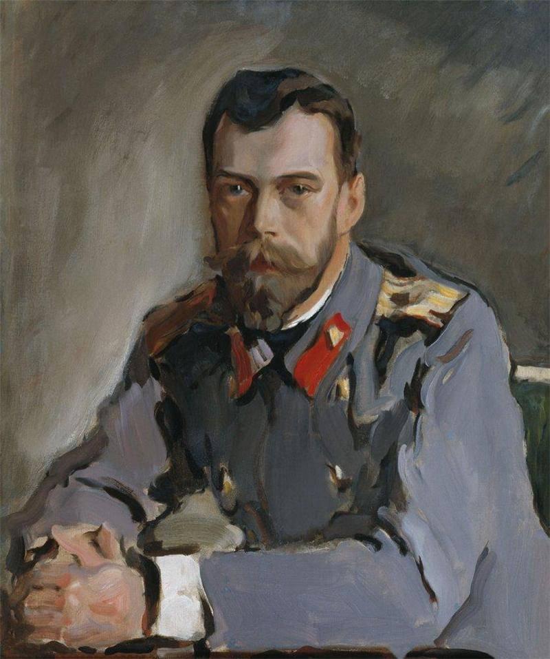 Портрет Императора Николая II 1900 года Валентина Серова фото