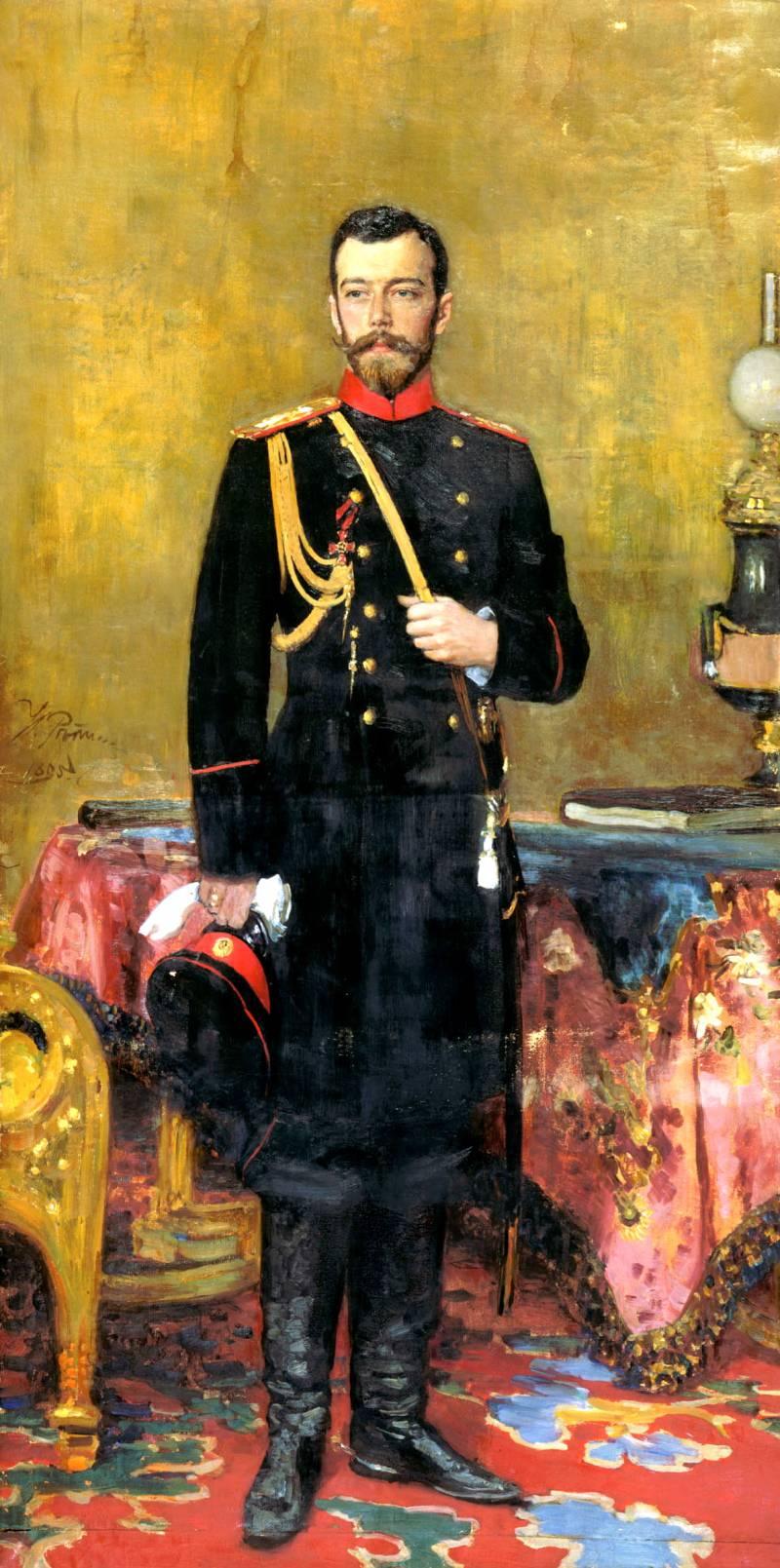 Портрет Императора Николая II Ильи Репина фото
