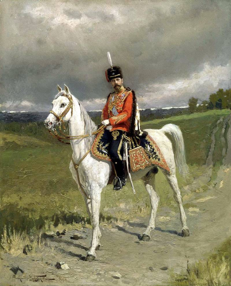 Портрет Императора Николая II Александра Маковского фото