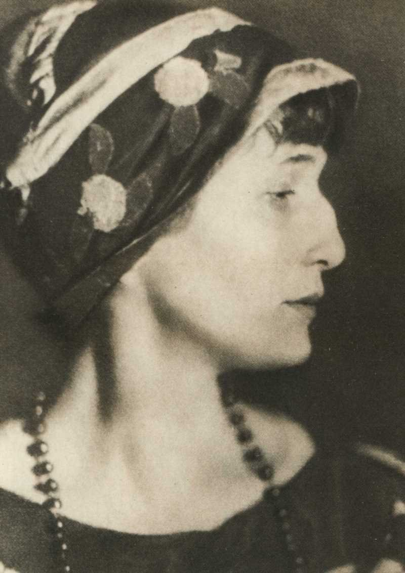 Фото Анны Ахматовой Петроград 1922 год