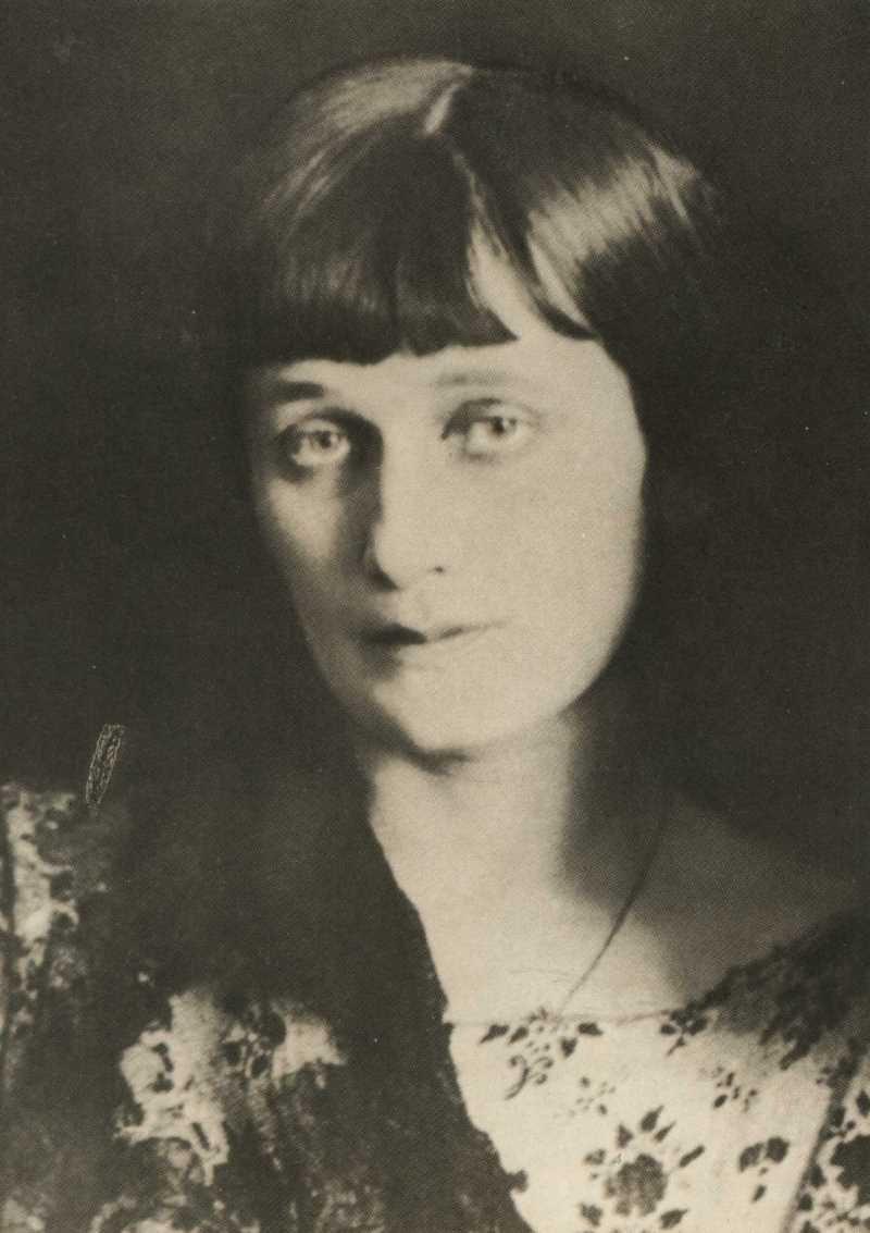 Фото Анны Ахматовой Ленинград 1924 год