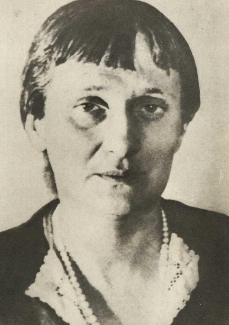 Фото Анны Ахматовой 1940 год