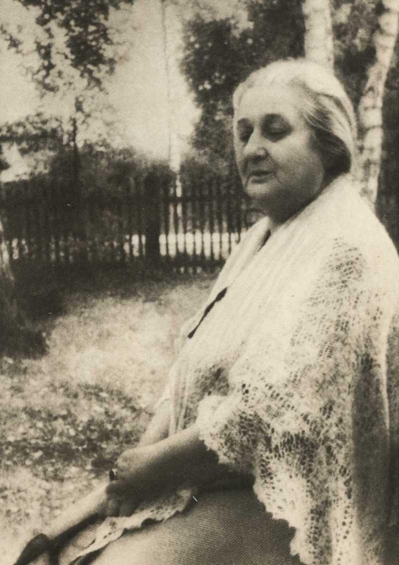 Фото Анны Ахматовой Голицыно. 1959 год