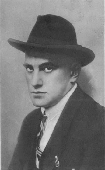 Фото Владимира Маяковского 1922 год