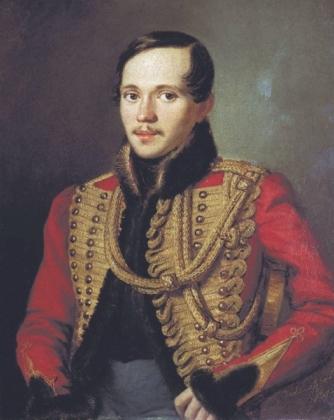 Портрет М.Ю.Лермонтова в ментике лейб-гвардии Гусарского полка П.Е.Заболотского 1837 года фото