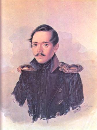 Портрет М.Ю.Лермонтова в сюртуке лейб-гвардии Гусарского полка А.И.Клюндера 1838 года фото