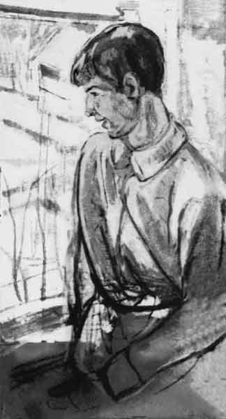 Портрет Сергея Есенина С.Городецкого 1915 года фото