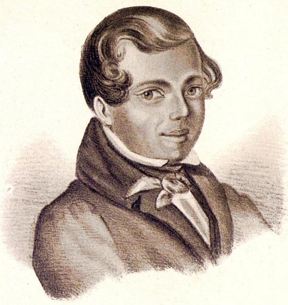 Портрет Алексея Кольцова Мокрицкого 1836 года фото