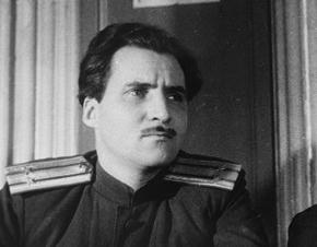 Фото Симонова Константина Подполковник 1943 год