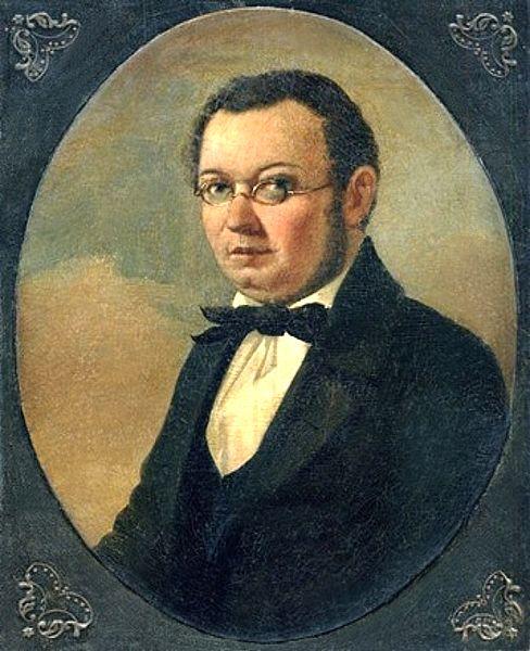Прижизненный портрет Ершова Петра Николая Маджи 1850-е года фото