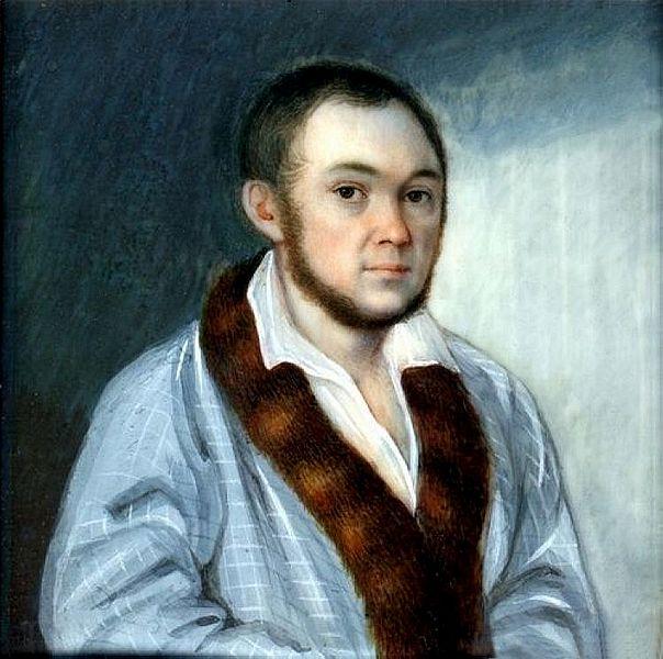 Портрет Ершова Петра Михаила Теребенёва 1795—1864 года фото