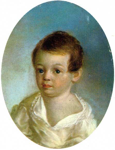 Портрет Александра Пушкина Баранской 1801-1802 года фото