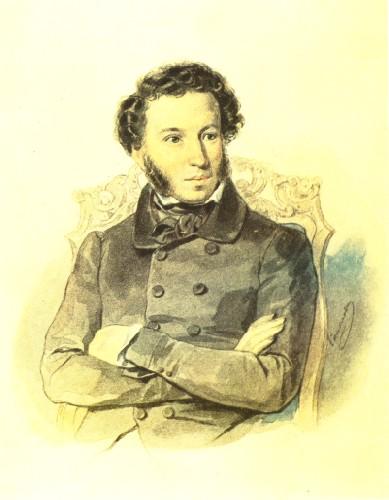 Портрет Александра Пушкина Соколова 1836 года фото