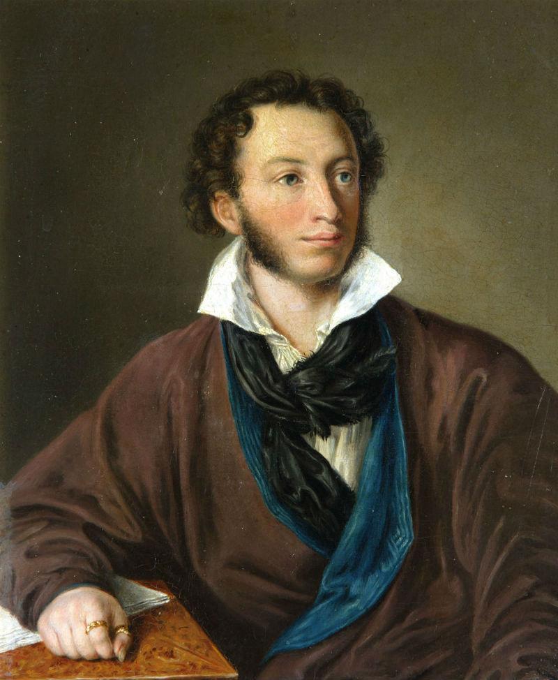 Портрет Александра Пушкина Елагина 1827 года фото