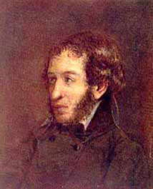 Портрет Александра Пушкина Линева 1836-37 года фото