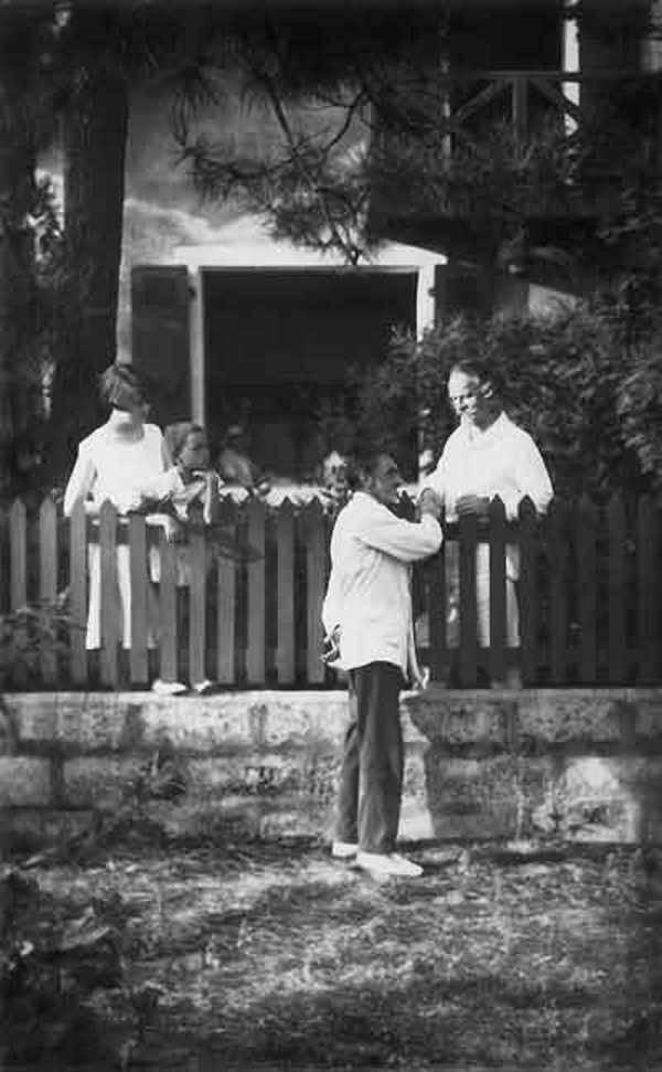 Фото Бальмонта Константина И.С.Шмелева 1920-е годы