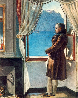 Портрет Василия Жуковского Рейтерна 1830 фото