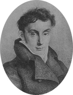 Портрет Василия Жуковского Эстеррейха 1820 года фото