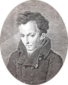 Портрет Василия Жуковского Соколова 1817 года фото