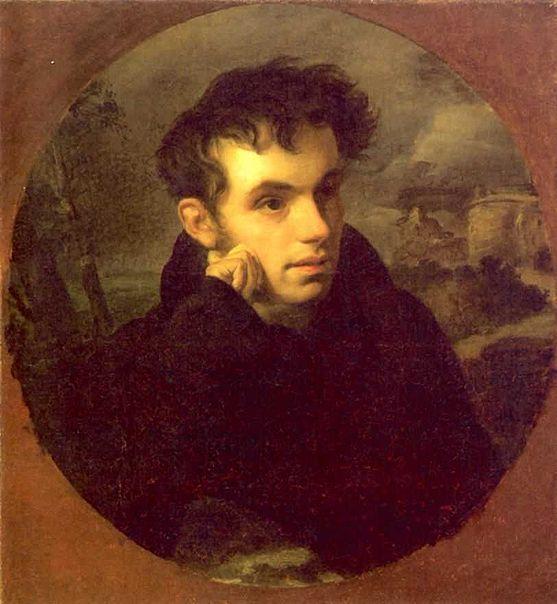 Портрет Василия Жуковского Кипренского