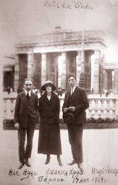 Фото Северянина Игоря Берлин 1924 год
