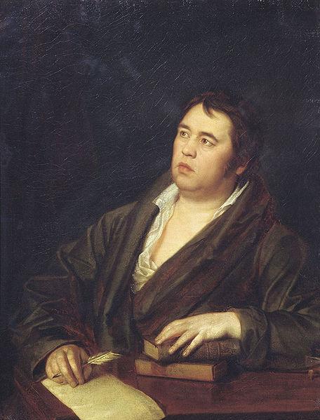 Портрет Крылова Ивана Волкова 1812 года фото