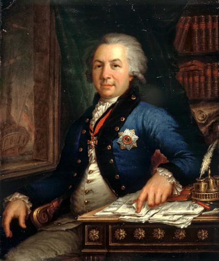 Портрет Державина Гаврилы В. Боровиковского 1795 года фото