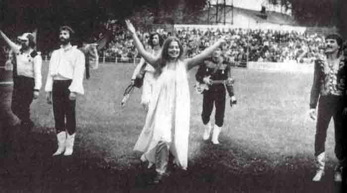 Фото Талькова Игоря в Белоруссии лето 1983 год