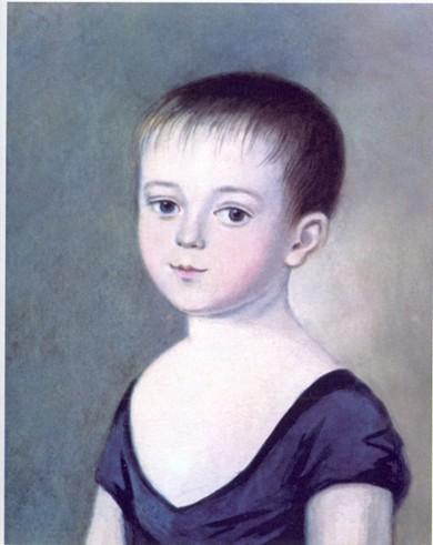 Портрет Тютчева Федора К. Барду 1805–1806 года фото