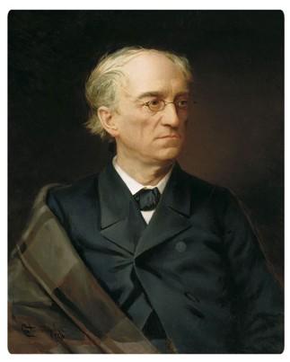 Портрет Тютчева Федора С. Александровского 1876 года фото