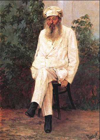 Портрет Фета Афанасия Рачкова 1880-е года фото