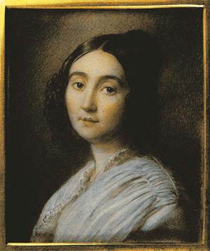 Портрет Евдокии Ростопчиной Г. Кордика 1846 года фото