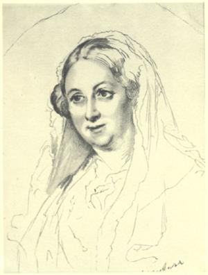 Портрет Евдокии Ростопчиной Тропинина В. А. 1853 года фото