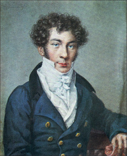 Портрет Батюшкова Константина Уткина 1815 года фото