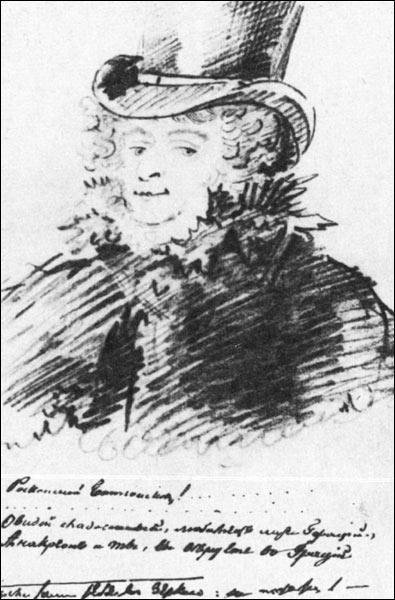 Автопортрет Батюшкова Константина 1817-1818 года фото