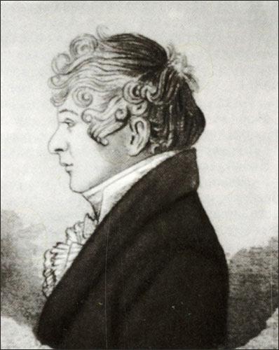 Автопортрет Батюшкова Константина 1810 года фото