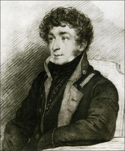 Портрет Батюшкова Константина О. А. Кипренского 1815 года фото