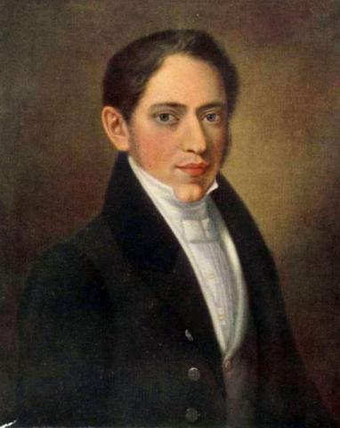 Портрет Николая Огарева неизвестного художника 1850-е года фото