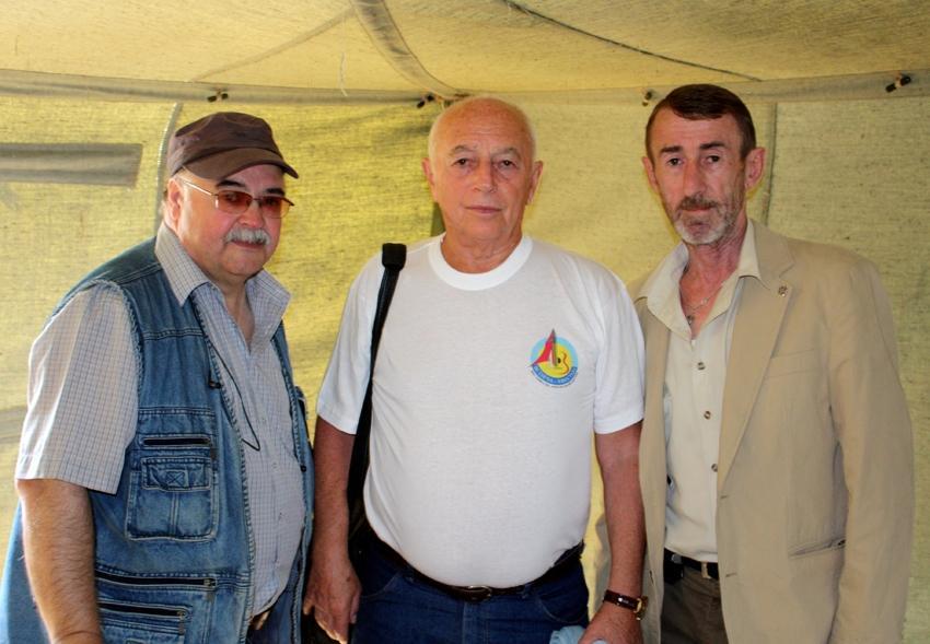 Фото Городницкого Александра на фестивале в Коломенском