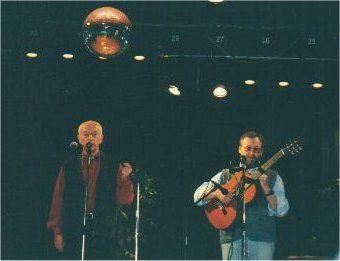 Фото Городницкого Александра на концерте в США 1998 год