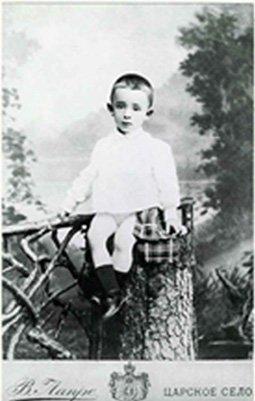 Фото Осипа Мандельштама в детстве