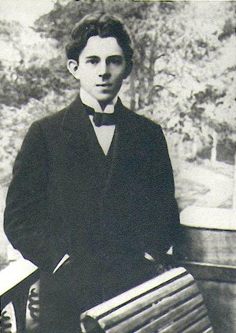 Фото Осипа Мандельштама 1910 год