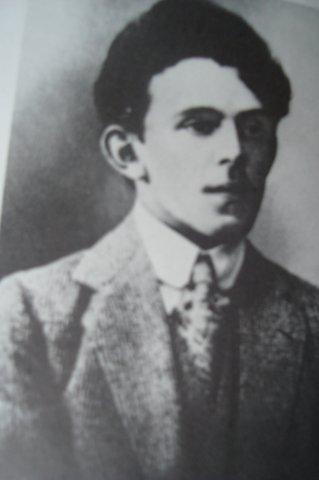 Фото Осипа Мандельштама 1912 год