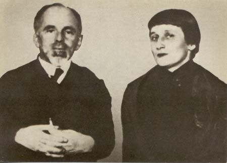 Фото Осипа Мандельштама с Анной Ахматовой