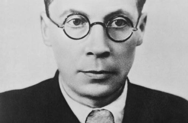 Фото Николая Заболоцкого 1938 год