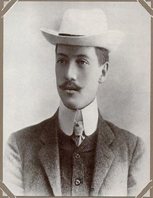 Фото Николая Гумилева 1909 год