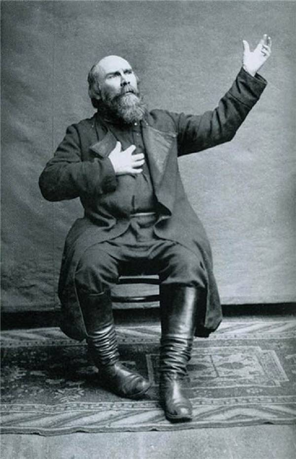 Фото Николая Клюева 1928 год
