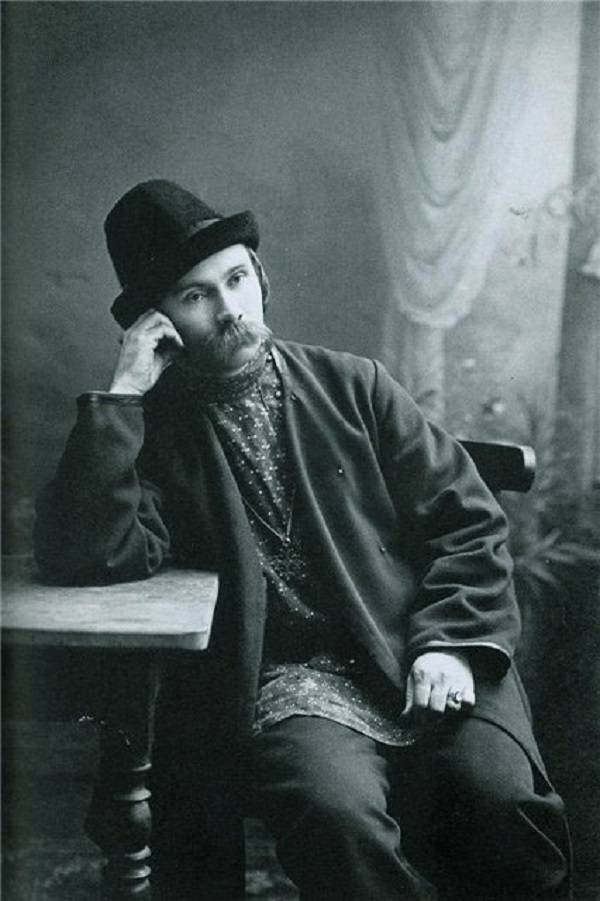 Фото Николая Клюева 1915 год