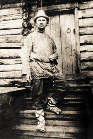 Фото Николая Клюева 1922 год