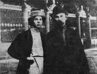 Фото Николая Клюева 1921-22 год
